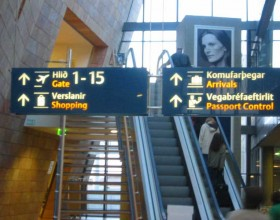 Keflavik Airport in Iceland 8th best airport in the world