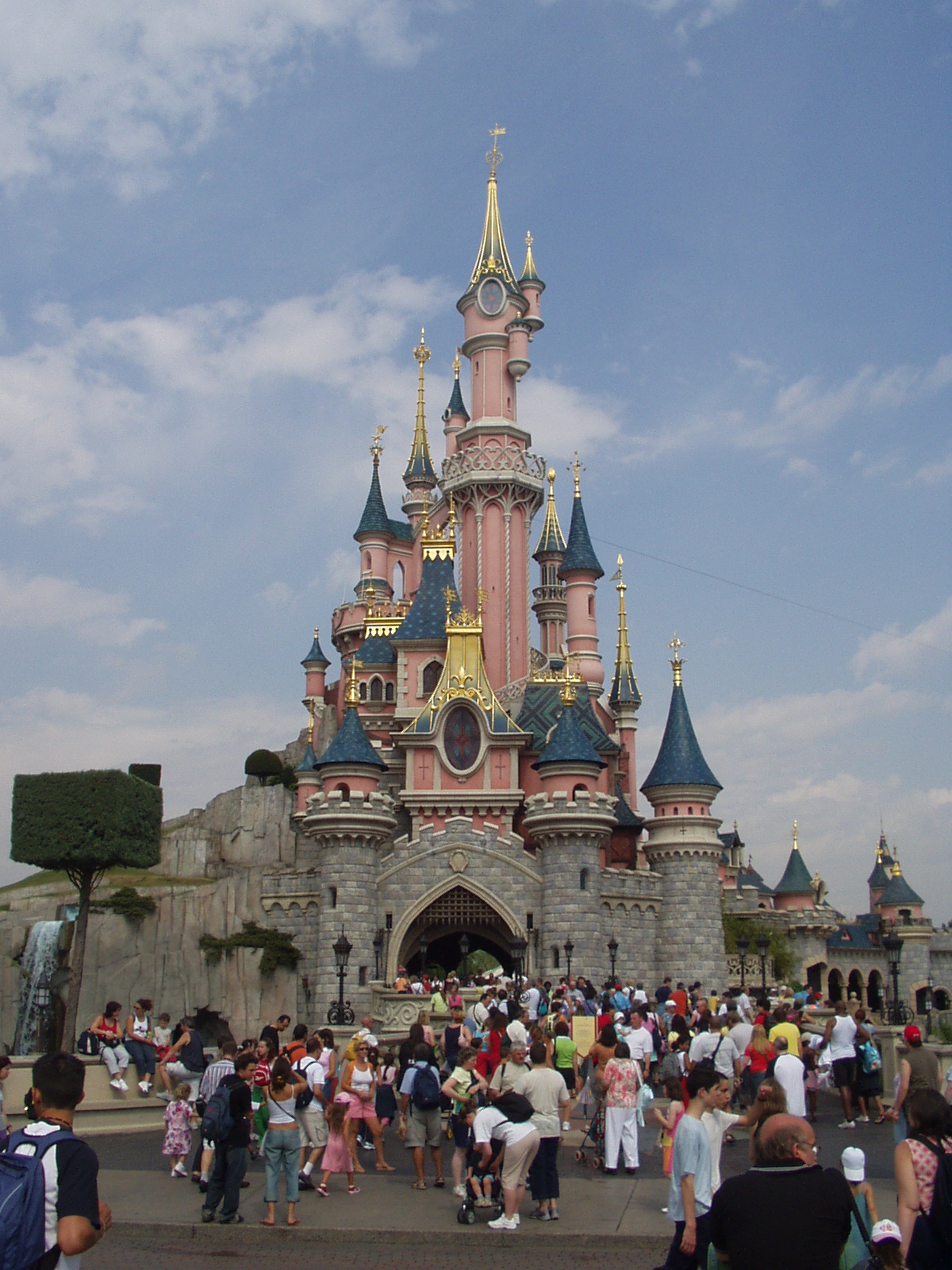 Europe's number one tourist destination, disneyland paris has