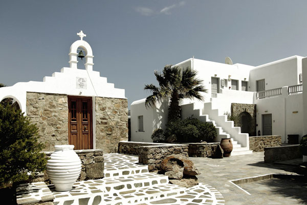 Hotel san giorgio in Mykonos home to many beautiful hotels