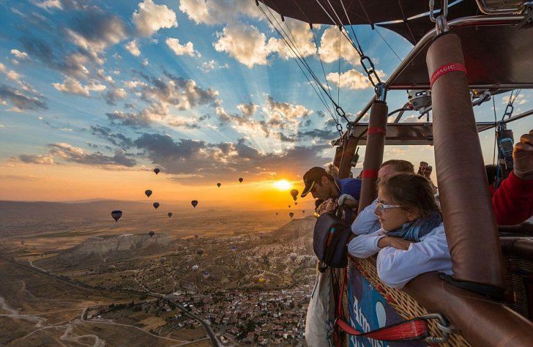 Turkey's popular tourism destination Cappadocia attracts thousands tourists