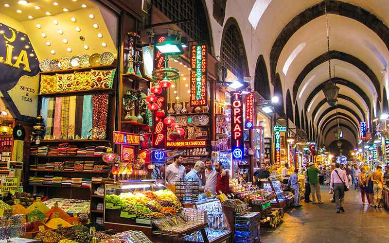 Istanbul's historic Spice Bazaar opens following restoration work