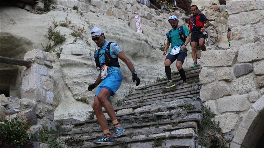 Footrace in Turkey's scenic Cappadocia kicks off