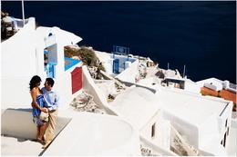 Santorinide Balayı