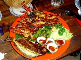 Bali Adasında Yemek