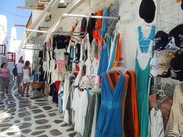 Mykonos Adası Alışveriş