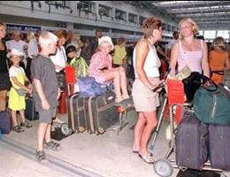 Turist Sayısında Düşüş Yaşandı