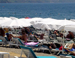 Antalya'ya Ocak ayından itibaren 650 binden fazla turist geldi