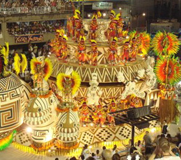 Dünya Rio Karnavalıyla Coşuyor