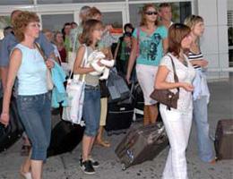 Rus turist sayısı %35 azaldı