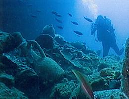 Yassıada'da arkeoloji turizmi