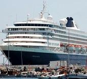 Pirnsendam adlı turist gemisi Sinop'a geldi