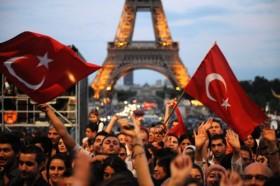 Paris türkler