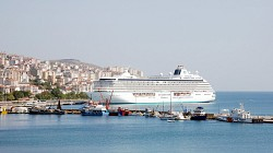 Dünyanın 5.büyük gemisi Sinop'ta