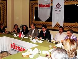 TURSAB Tuğcan Otel'e Teşekkür Plaketi verdi