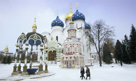 Moskova belediye başkanı yuri mihaylovic lujkov kışın kar
