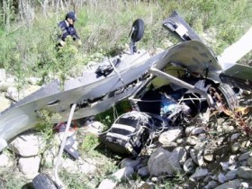 Sinop'ta düşen araştırma uçağının esrarı çözüldü