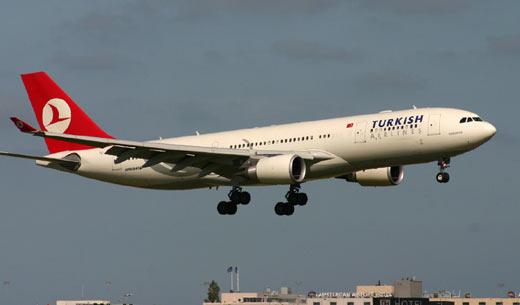 Türk hava yolları dünyanın en iyi dördüncü havayolu seçildi
