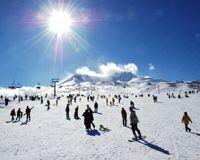 Uludağ'da kar yağışı