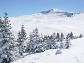Uludağ'daki kar kalınlığı 1 metre