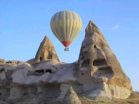 Uzak Doğulu turistler Kapadokya'ya akın etti