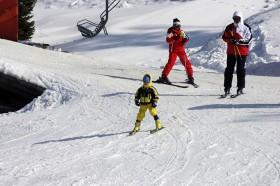 Kartalkaya kayak için oldukça elverişli