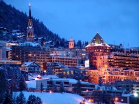 İsviçre St. Moritz