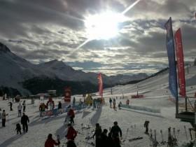 St Moritz kayak merkezi krizden etkilenmedi