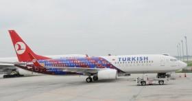 THY Barcelona Uçağı