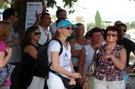 Antalya'ya 219 bin turist geldi