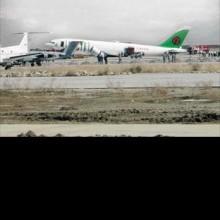 Türk uçağına roket saldırısı