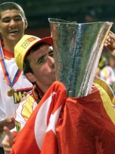 Galatasaray'ın yeni teknik direktörü Hagi, İstanbul'da