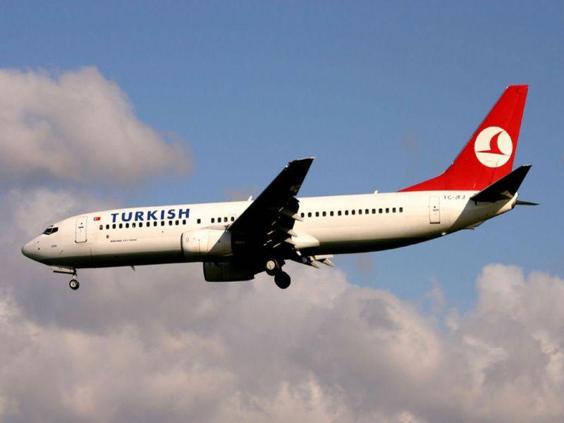 Türk hava yolları uçağında bomba ihbarı turizm haberleri