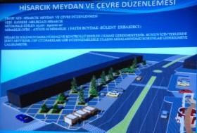 Kış Turizminin ticaret merkezi Hisarcık Meydanı