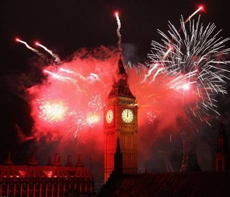 London-new-year