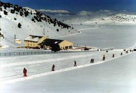 Davraz'da kayak sezonu açıldı