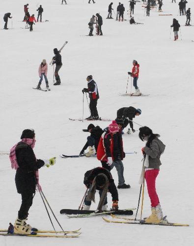 Sömestre tatili kayak turları