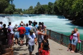 Manavgat Şelalesi'ni bu yıl 1 milyon turist ziyaret etti
