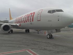 Pegasus Hava Yolları'nın yeni uçağı Almira