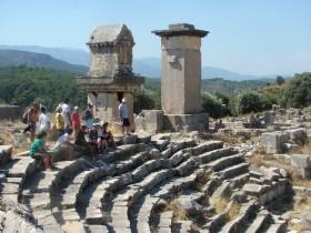 Xanthos Antik Kent'i kültür turizminin gelişmesinde öncü