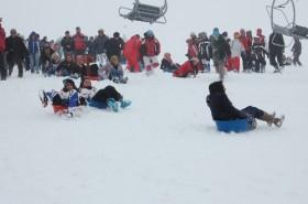 Nemrut Kayak Merkezi'nde  kar festivali