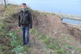 Bozuk Kale'de lahana yetiştiriliyor