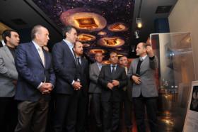 Kültür ve Turizm Bakanı Çelik, kutsal emanetleri ziyaret etti