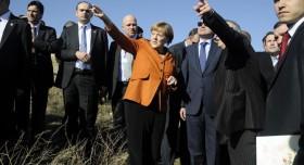 Angela Merkel, Kapadokya'yı gezdi