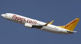 Pegasus Hava Yolları Saraybosna'ya ilk uçuşunu gerçekleştirdi
