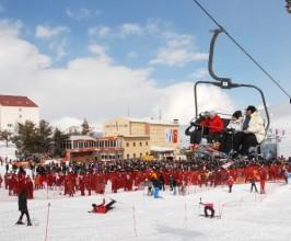 Avrupa'da bin 678, Türkiye'de 45 kayak merkezi var