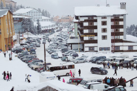 Uludağ'da kar kalınlığı 190 santimetre