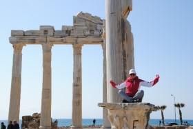 Apollon Tapınağı'nda paslı demir krizi