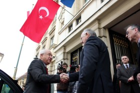TBMM Başkanı Cemil Çiçek Hırvatistan ziyaretinde