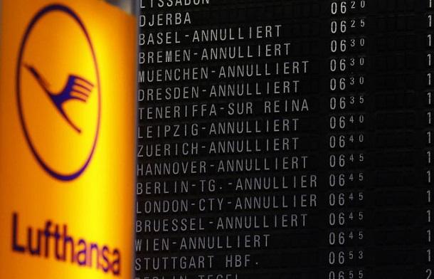Lufthansa-Strikes
