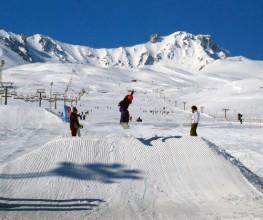 Erciyes Kayak Merkezi'ni 1 milyon kişi ziyaret etti